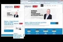 Responsive Website Layouts for Elpizo Accountancy