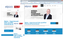 Responsive Website Layouts for Elpizo Accountancy