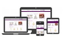 Example of Perfect Charm responsive web design site